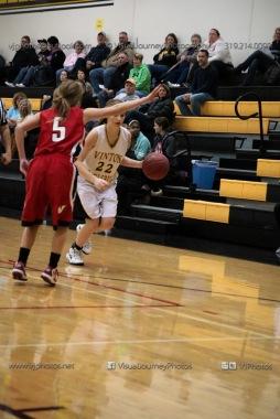 Sophomore Girls Basketball Vinton-Shellsburg vs Williamsburg-0102