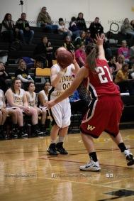 Sophomore Girls Basketball Vinton-Shellsburg vs Williamsburg-0106