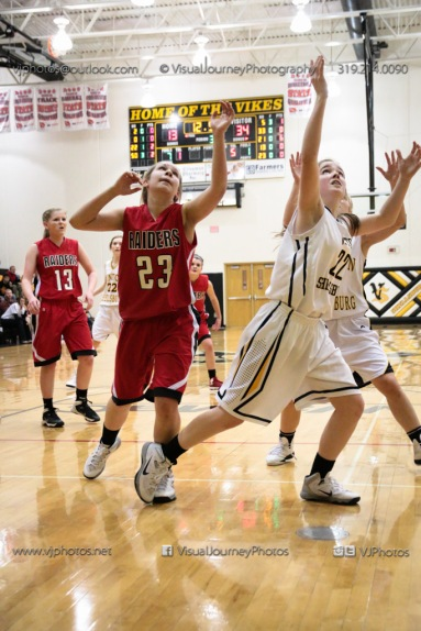 Sophomore Girls Basketball Vinton-Shellsburg vs Williamsburg-0107