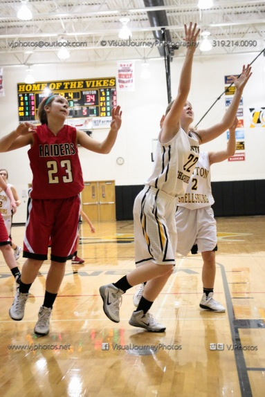 Sophomore Girls Basketball Vinton-Shellsburg vs Williamsburg-0108