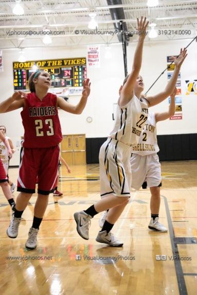 Sophomore Girls Basketball Vinton-Shellsburg vs Williamsburg-0108