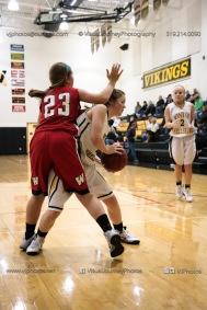 Sophomore Girls Basketball Vinton-Shellsburg vs Williamsburg-0112