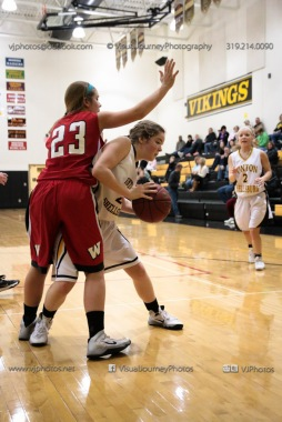Sophomore Girls Basketball Vinton-Shellsburg vs Williamsburg-0113