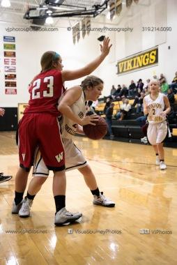Sophomore Girls Basketball Vinton-Shellsburg vs Williamsburg-0113