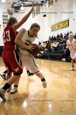 Sophomore Girls Basketball Vinton-Shellsburg vs Williamsburg-0115