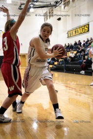 Sophomore Girls Basketball Vinton-Shellsburg vs Williamsburg-0116