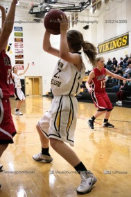 Sophomore Girls Basketball Vinton-Shellsburg vs Williamsburg-0118