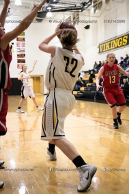 Sophomore Girls Basketball Vinton-Shellsburg vs Williamsburg-0119