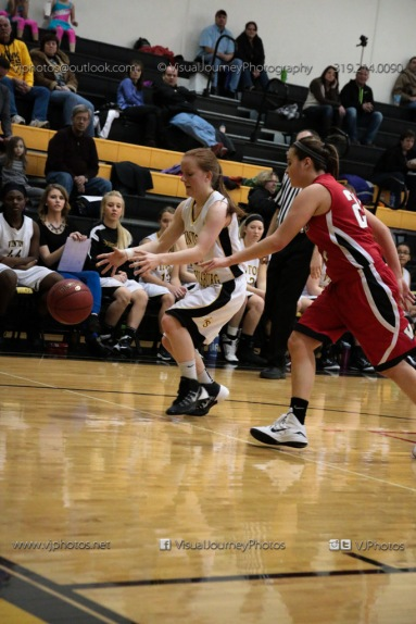 Sophomore Girls Basketball Vinton-Shellsburg vs Williamsburg-0120
