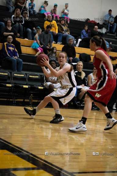 Sophomore Girls Basketball Vinton-Shellsburg vs Williamsburg-0122