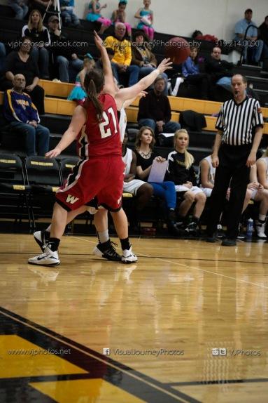 Sophomore Girls Basketball Vinton-Shellsburg vs Williamsburg-0123