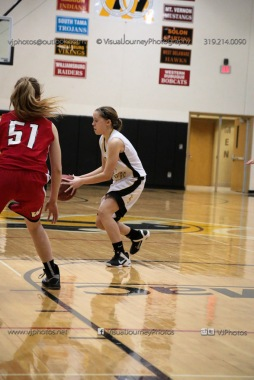 Sophomore Girls Basketball Vinton-Shellsburg vs Williamsburg-0161