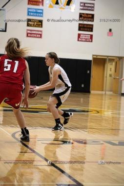 Sophomore Girls Basketball Vinton-Shellsburg vs Williamsburg-0161