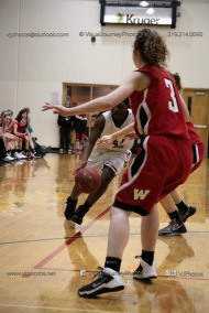 Sophomore Girls Basketball Vinton-Shellsburg vs Williamsburg-0164