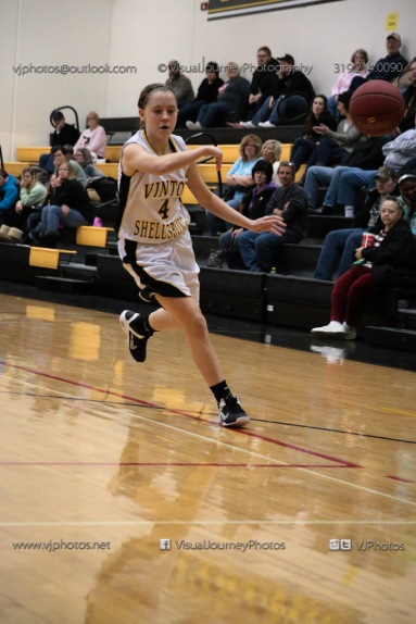 Sophomore Girls Basketball Vinton-Shellsburg vs Williamsburg-0168