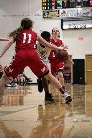 Sophomore Girls Basketball Vinton-Shellsburg vs Williamsburg-0180