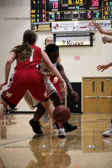 Sophomore Girls Basketball Vinton-Shellsburg vs Williamsburg-0181