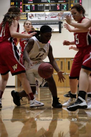 Sophomore Girls Basketball Vinton-Shellsburg vs Williamsburg-0182