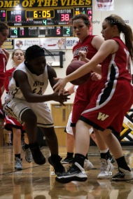 Sophomore Girls Basketball Vinton-Shellsburg vs Williamsburg-0183