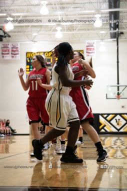 Sophomore Girls Basketball Vinton-Shellsburg vs Williamsburg-0187