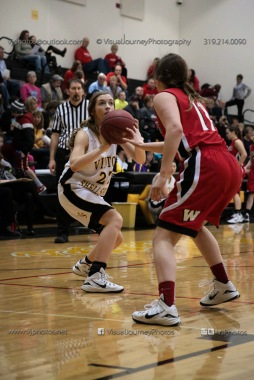 Sophomore Girls Basketball Vinton-Shellsburg vs Williamsburg-0188
