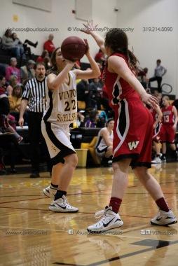 Sophomore Girls Basketball Vinton-Shellsburg vs Williamsburg-0189