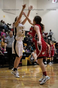 Sophomore Girls Basketball Vinton-Shellsburg vs Williamsburg-0190