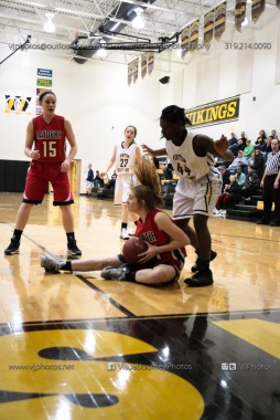Sophomore Girls Basketball Vinton-Shellsburg vs Williamsburg-0200