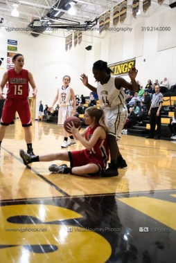 Sophomore Girls Basketball Vinton-Shellsburg vs Williamsburg-0201