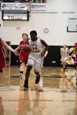 Sophomore Girls Basketball Vinton-Shellsburg vs Williamsburg-0202
