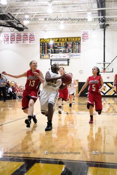 Sophomore Girls Basketball Vinton-Shellsburg vs Williamsburg-0207