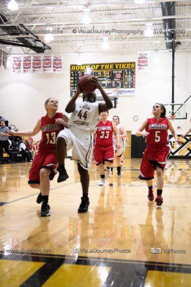 Sophomore Girls Basketball Vinton-Shellsburg vs Williamsburg-0208
