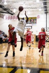 Sophomore Girls Basketball Vinton-Shellsburg vs Williamsburg-0209