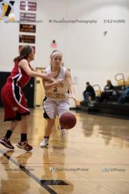 Sophomore Girls Basketball Vinton-Shellsburg vs Williamsburg-0212