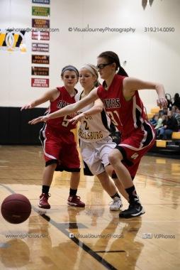 Sophomore Girls Basketball Vinton-Shellsburg vs Williamsburg-0214