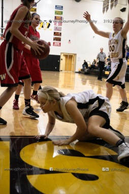 Sophomore Girls Basketball Vinton-Shellsburg vs Williamsburg-0220
