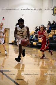 Sophomore Girls Basketball Vinton-Shellsburg vs Williamsburg-0222