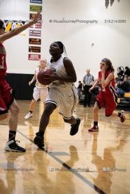 Sophomore Girls Basketball Vinton-Shellsburg vs Williamsburg-0224