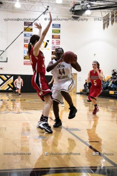 Sophomore Girls Basketball Vinton-Shellsburg vs Williamsburg-0225