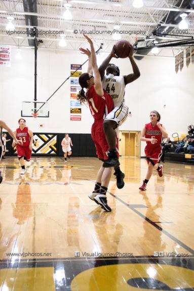 Sophomore Girls Basketball Vinton-Shellsburg vs Williamsburg-0226