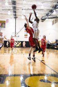 Sophomore Girls Basketball Vinton-Shellsburg vs Williamsburg-0227