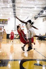 Sophomore Girls Basketball Vinton-Shellsburg vs Williamsburg-0229