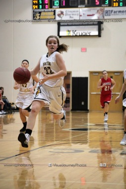 Sophomore Girls Basketball Vinton-Shellsburg vs Williamsburg-0231