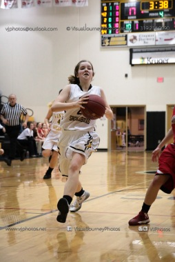Sophomore Girls Basketball Vinton-Shellsburg vs Williamsburg-0233