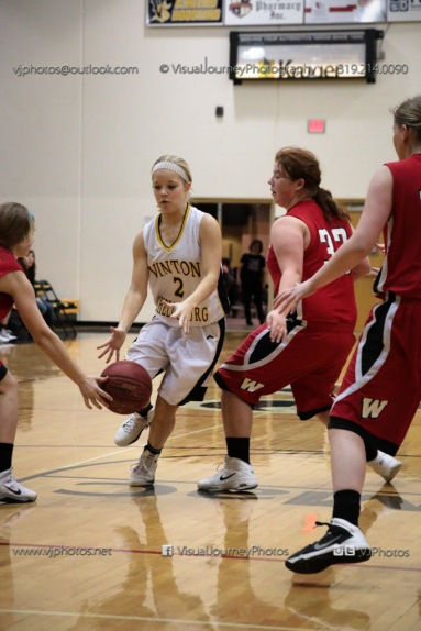 Sophomore Girls Basketball Vinton-Shellsburg vs Williamsburg-0238