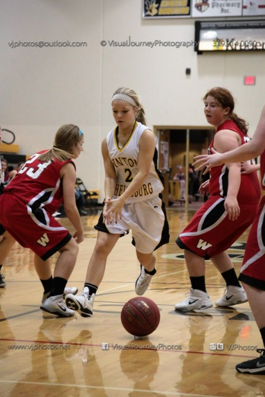 Sophomore Girls Basketball Vinton-Shellsburg vs Williamsburg-0239