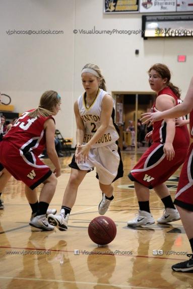 Sophomore Girls Basketball Vinton-Shellsburg vs Williamsburg-0239