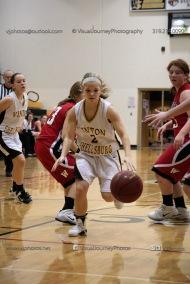 Sophomore Girls Basketball Vinton-Shellsburg vs Williamsburg-0240