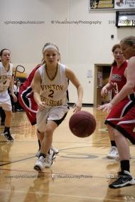 Sophomore Girls Basketball Vinton-Shellsburg vs Williamsburg-0241