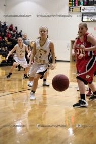 Sophomore Girls Basketball Vinton-Shellsburg vs Williamsburg-0242